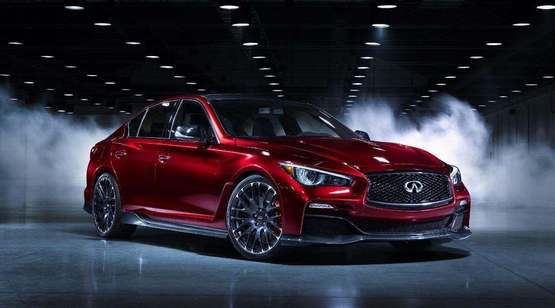 shiny red infiniy - san diego auto detailing