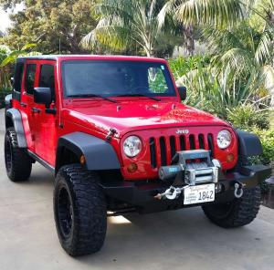 Red+Jeep